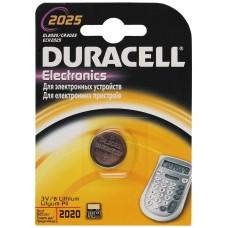 Элемент питания DURACELL CR2025