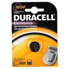 Элемент питания DURACELL CR2032