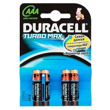 Элемент питания DURACELL LR03 BL4 Turbo Max