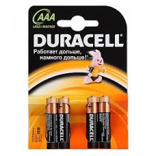 Элемент питания DURACELL LR03 BL4