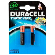 Элемент питания DURACELL LR03 BL2 Turbo Max