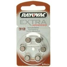 Элемент питания Rayovac 312