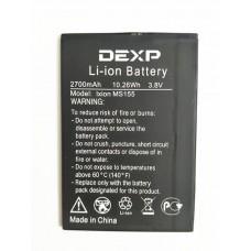 Аккумулятор DEXP Ixion MS155