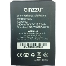 Аккумулятор GINZZU RS7D