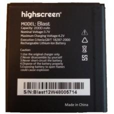 Аккумулятор Highscreen Blast