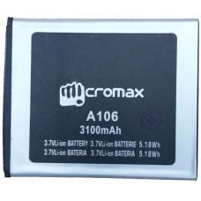 Аккумулятор Micromax A106