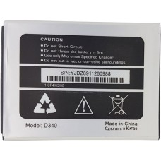 Аккумулятор Micromax D340