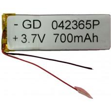 Аккумулятор под пайку 042365P