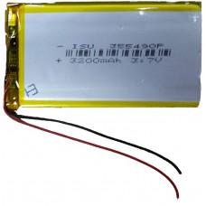 Аккумулятор под пайку 355490P
