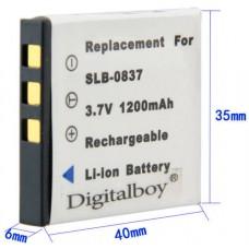 Аккумулятор New View для Samsung SLB-0837