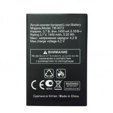 Аккумулятор TEXET TM-4072