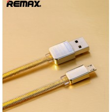 кабель Remax Gold King kong micro usb