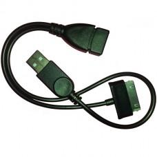 Otg кабель Samsung Tab с дополнительным питанием