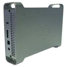 HDD-бокс 3Q E375-PS SATA 3.5 серебряный