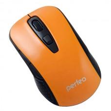 Мышь беспроводная perfeo PF-966 (Оранжевая)