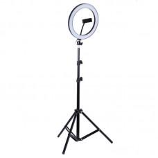 Кольцевая лампа со штативом 26 см