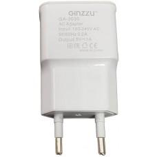 Сетевое зарядное устройство Ginzzu 5V-1.0A Service