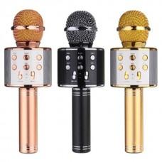 микрофон караоке с bluetooth динамиком WS-858