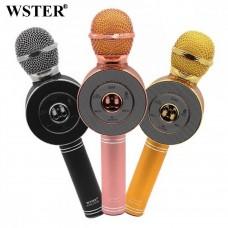 микрофон караоке с bluetooth динамиком WS-668