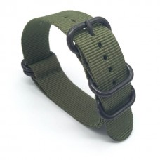 Ремешок для Garmin fenix 3 24 мм (Зелёный)