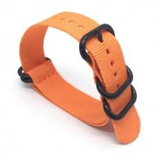 Ремешок для Garmin fenix 3 24 мм (Оранжевый)