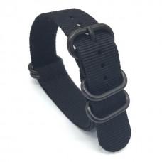 Ремешок для Garmin fenix 3 24 мм (черный)
