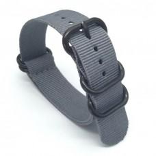 Ремешок для Garmin fenix 3 24 мм (Серый)