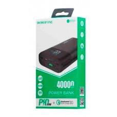 Внешний аккумулятор BOROFONE DBT01 Q.C.3.0.40000mAh
