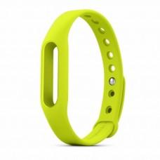 ремешок для фитнес браслета Xiaomi Mi Band (Салатовый)