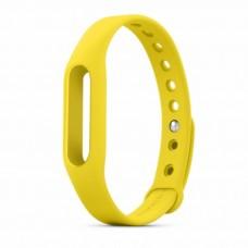 ремешок для фитнес браслета Xiaomi Mi Band (Желтый)