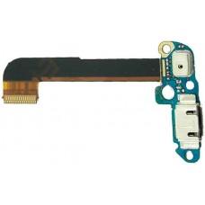 Шлейф HTC ONE M7 с разъемом зарядки