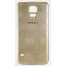 Задняя крышка Samsung S5 (золотая)