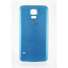 Задняя крышка Samsung S5 (синяя)