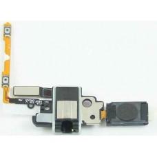 Шлейф Samsung G850F с разъемом гарнитуры, кнопками громкости и спикером