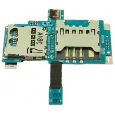 Шлейф Samsung i9003 на разъем SIM/MMC