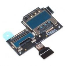 Шлейф Samsung i9190/i9195 на разъем SIM/MMC