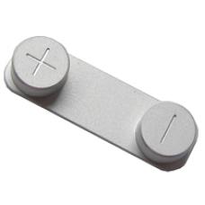 Кнопки громкости для iPhone 5 серая