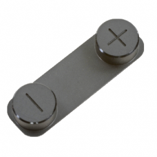 Кнопки громкости для iPhone 5 черные