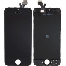 Дисплей для iPhone 5 черный (в сборе, модуль)