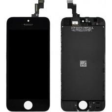 Дисплей для iPhone 5s черный (в сборе, модуль)