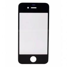 Стекло для iPhone 4 черное