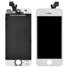 Дисплей для iPhone 5 белый (в сборе, модуль)
