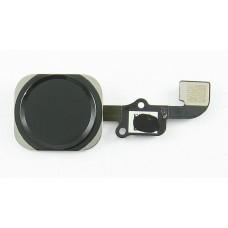 Шлейф для iPhone 6/6 Plus на кнопку HOME в сборе Черный