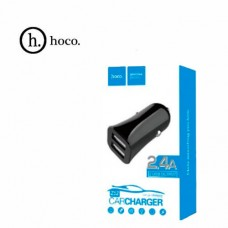 Автомобильное зарядное устройство НОСО Z12 2USB (черный)