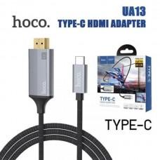 Кабель HDMi 4K to Type-c Hoco UA13 1.8M