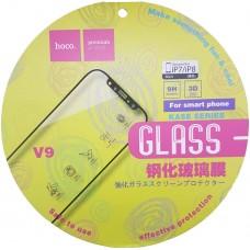 Защитное стекло Hoco для iPhone 7/8 чёрное
