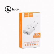 Сетевое зарядное устройство НОСО C11. 1xUSB 1.0A.