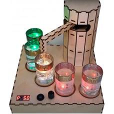 Наливатор алкоголя с круглой башней