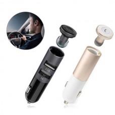 Автомобильное зарядное устройство + Bluetooth-гарнитура Remax RB-T11C